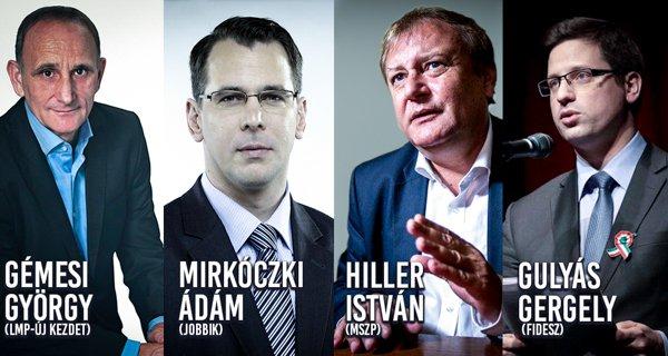 Négy ember, négy vélemény? Politikai vitaest a Károlin