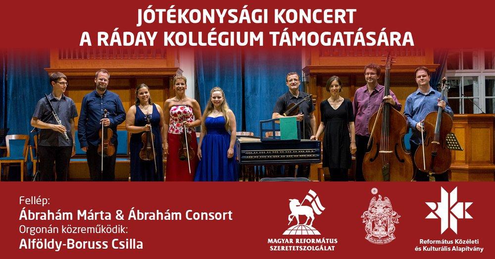 Jótékonysági koncert Ábrahám Mártával