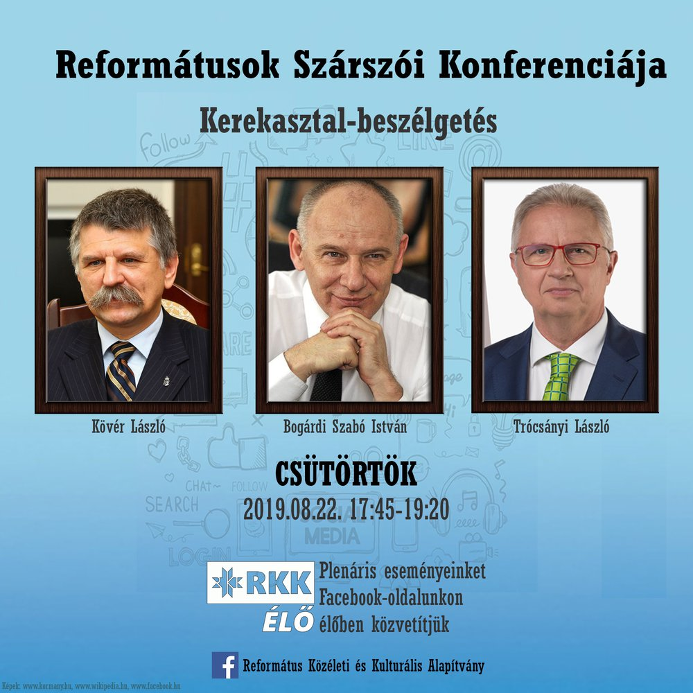 Reformátusok Szárszói Konferenciája 2019